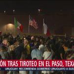 Foto: Vigilia Frontera México Estados Unidos Tiroteo Paso 5 Agosto 2019