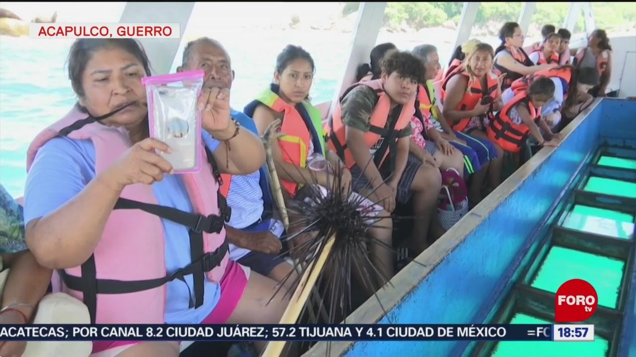 FOTO: Recorrido Lanchas Con Fondo Cristal Atractivo Acapulco