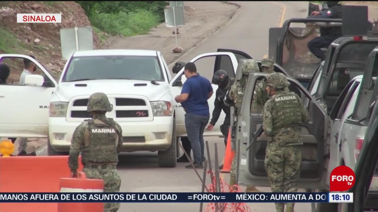 FOTO: Refuerzan Operativos Seguridad Sur Sinaloa
