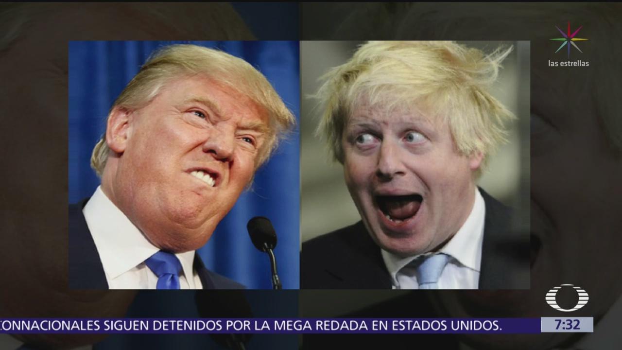 Reporte Trump: ¿En qué se parecen Trump y Boris Johnson?
