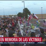Foto: Residentes Texas Realizan Vigilia Memoria Víctimas Tiroteo El Paso