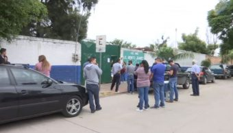 FOTO Durante vacaciones, roban en escuelas de Guanajuato (Noticieros Televisa)