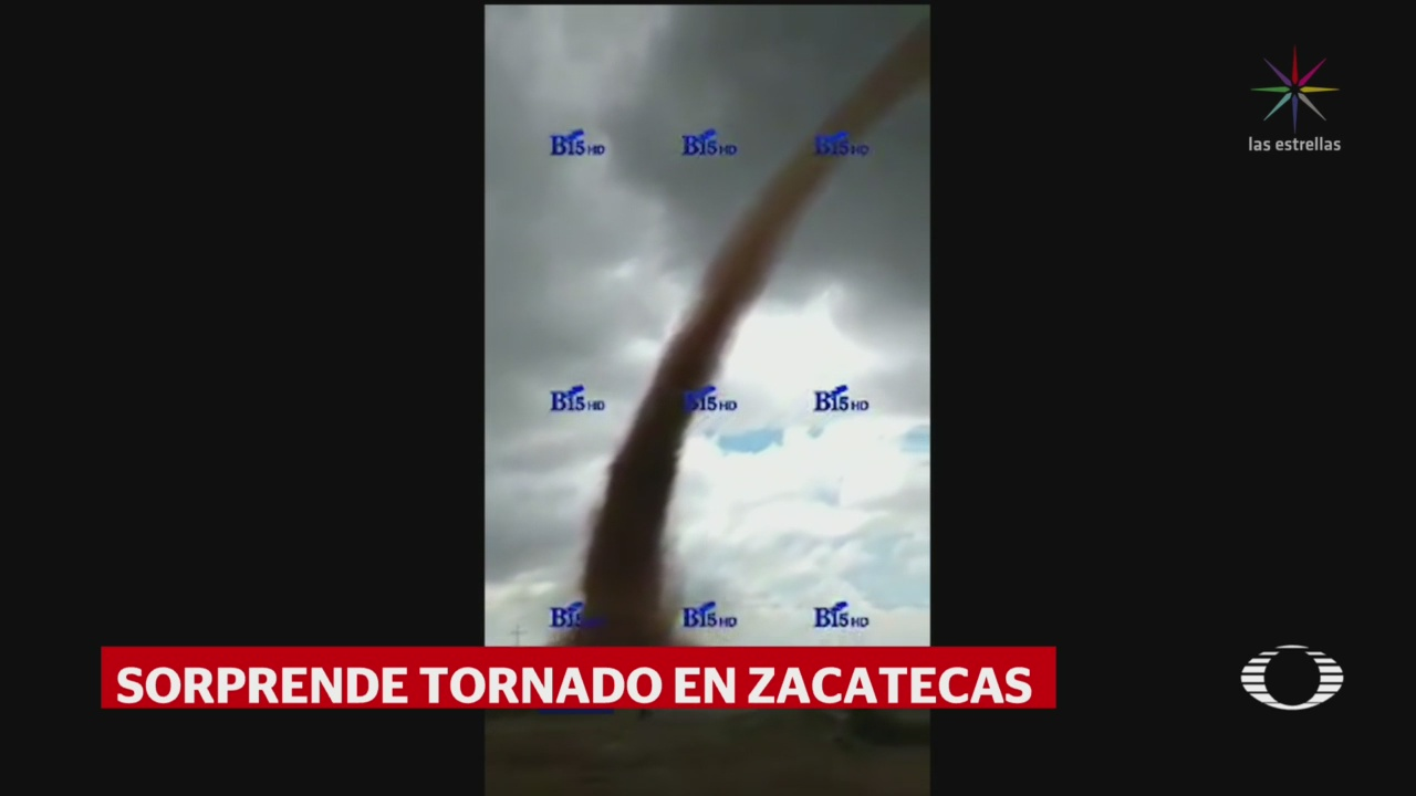 Foto: Video Tornado Fresnillo Zacatecas 6 Agosto 2019