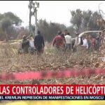 Foto: Aeronave Los Moreno Valle No Presentaba Fallas Erika Alonso 13 Agosto 2019