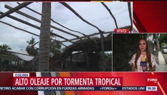 Foto: Tormenta tropical Ivo provoca lluvias Colima Guerrero