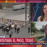 Foto: Trump Visitará Sobrevivientes Tiroteo El Paso Texas