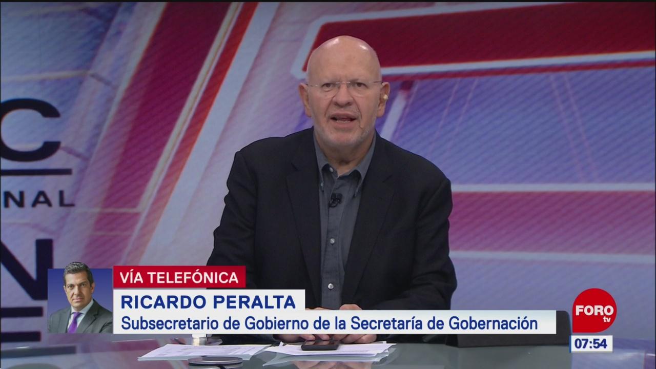 Video: Entrevista completa con Ricardo Peralta, subsecretario de Segob, en Estrictamente Personal