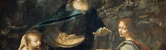 Foto Virgen Rocas Leonardo Da Vinci