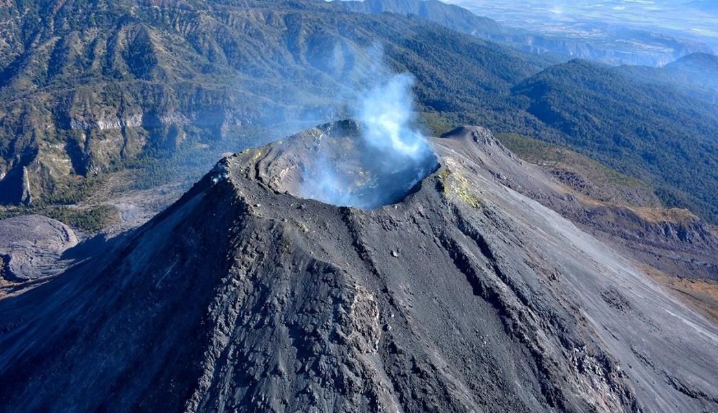 Foto: Volcán de Fuego de Colima, 7 de agosto de 2019 (Twitter @PCJalisco, archivo)