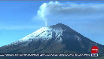 FOTO: Volcán Popocatépetl registra exhalación, 3 AGOSTO 2019