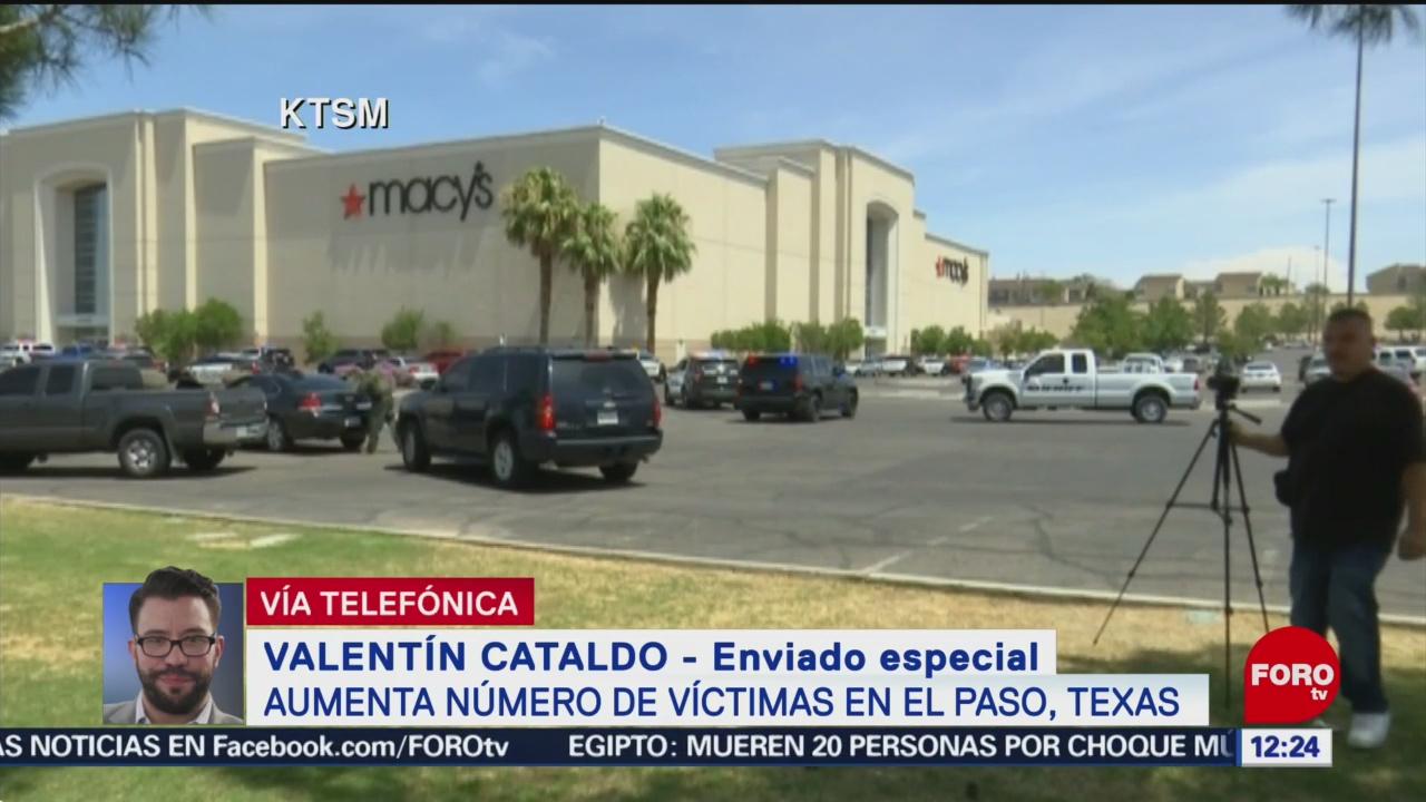 Ya son 8 los mexicanos muertos por tiroteo en El Paso, Texas
