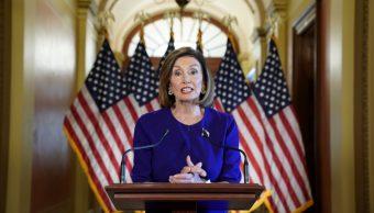 Nancy Pelosi, presidenta de la Cámara de Representantes de Estados Unidos
