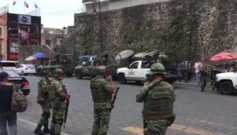 Desalojo del TSJ de Morelos