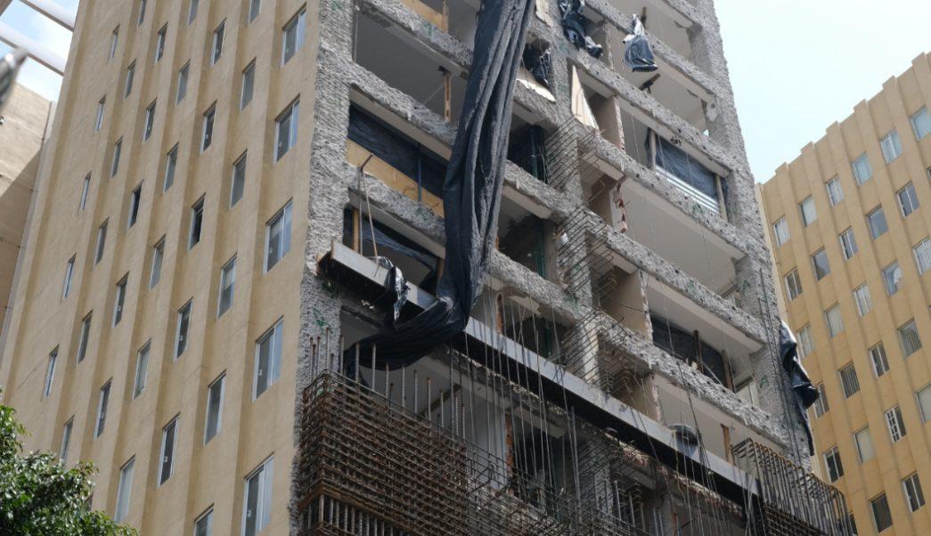 FOTO AMLO: No impunidad a constructoras de viviendas dañadas por sismos de 2017 (Cuartoscuro/Graciela López)
