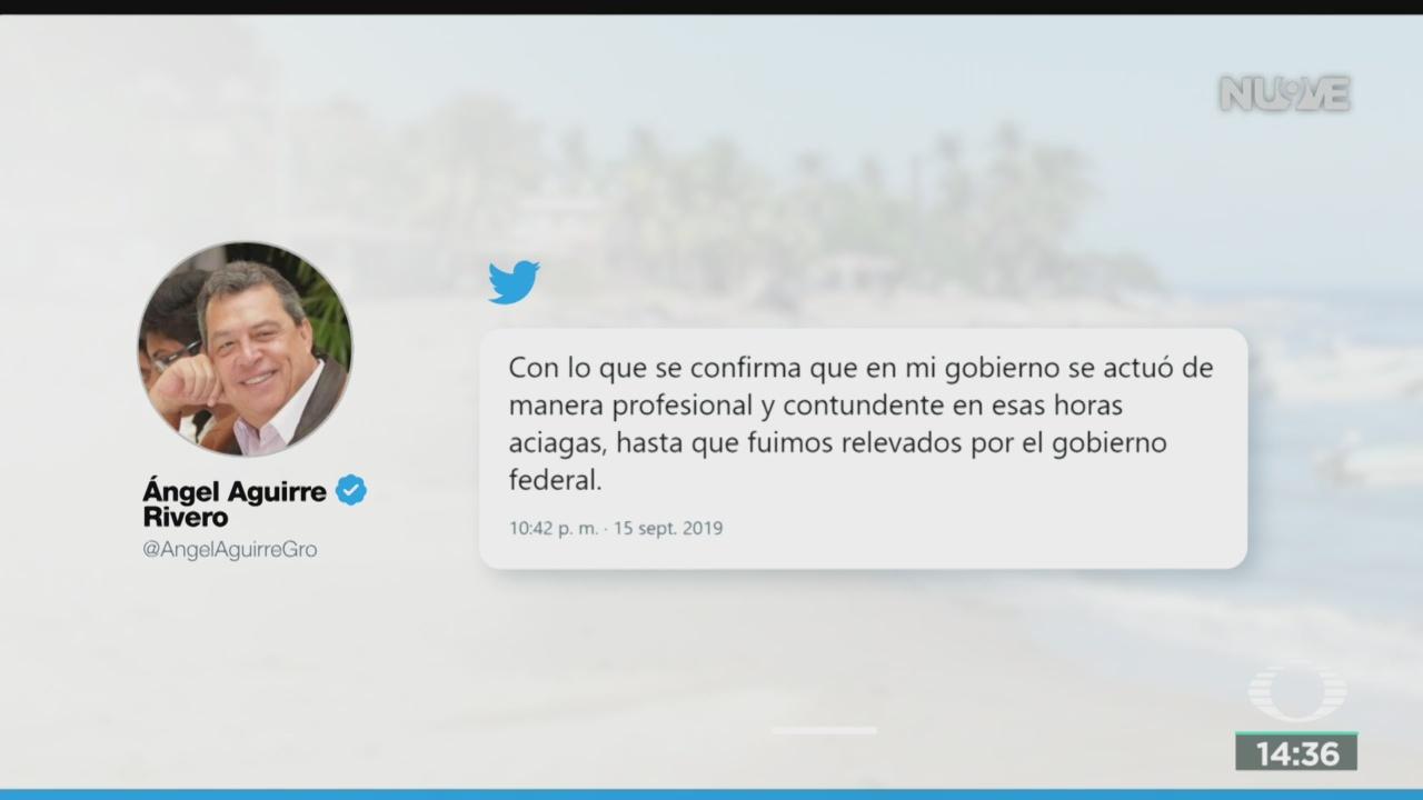 FOTO: Ángel Aguirre Defiende Actuación Caso Ayotzinapa