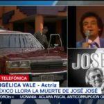 FOTO: Angélica Vale consideraba a José José como un padre, 28 septiembre 2019