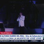 FOTO: Anuncia Secretaría de Cultura de la CDMX karaoke en honor a José José, 28 septiembre 2019