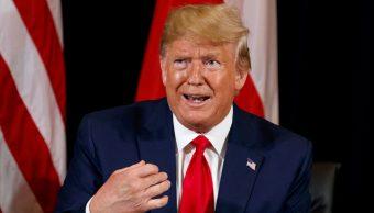 Donald Trump, presidente de Estados Unidos. (AP)