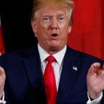 Foto: Trump durante reuniones en el marco de la cumbre de la ONU, 25 de septiembre de 2019 (AP)