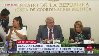 Foto: Aprueban Comisiones Leyes Secundarias Reforma Educativa