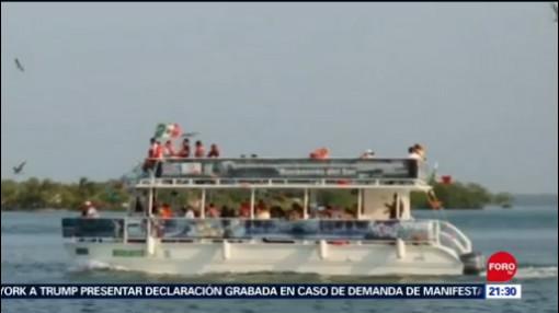 Asaltan a turistas durante paseo en barco en Tabasco