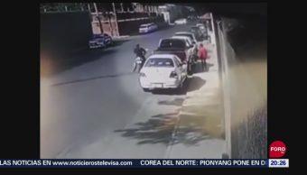 Foto: Video Asalto Violento Mujer Irapuato Guanajuato 27 Septiembre 2019