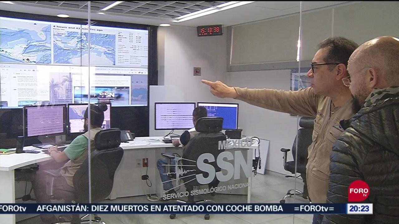 Foto: Macrosilmulacro Servicio Sismológico Nacional 19 Septiembre 2019