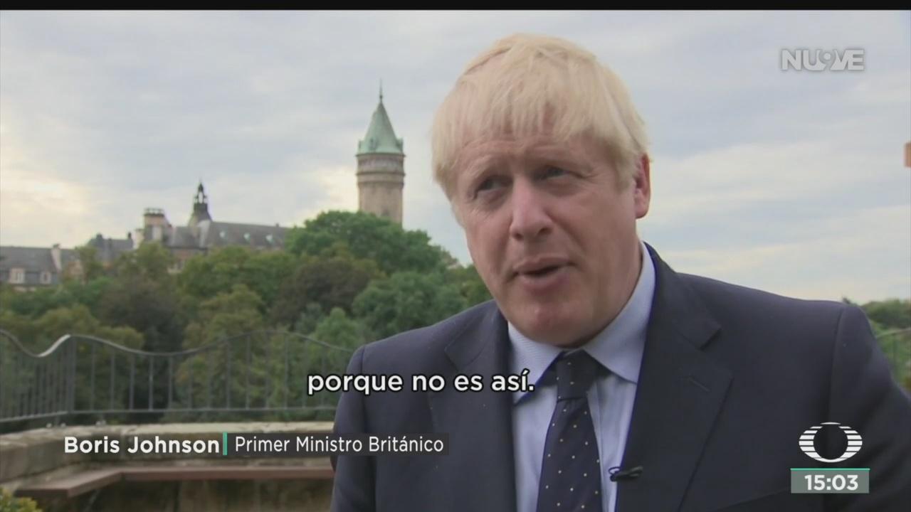 FOTO: Boris Johnson Enfrenta Una Grave Crisis Política,