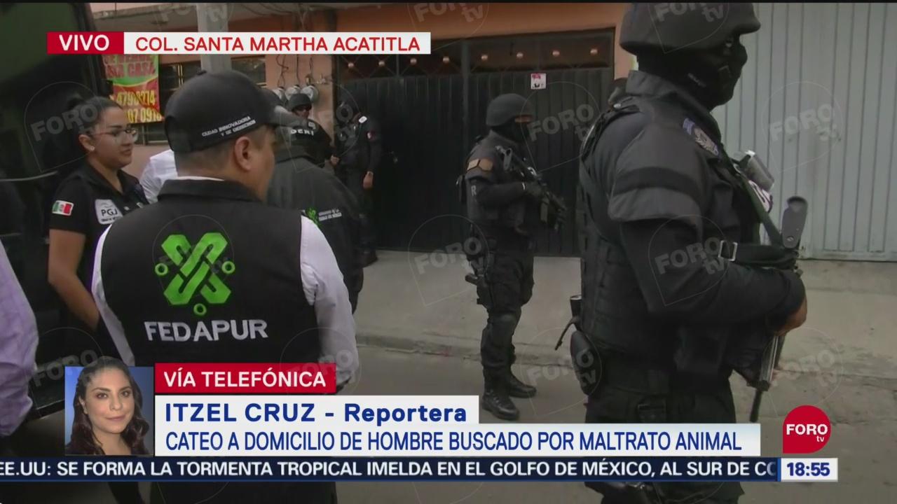 FOTO: Buscan Hombre Que Mató Pitbull Iztapalapa