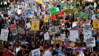 Foto: Protestas contra el cambio climático, 20 de septiembre de 2019, Londres, Inglaterra