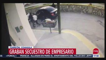 Foto: Video Momento Secuestro Empresario Coahuila 24 Septiembre 2019