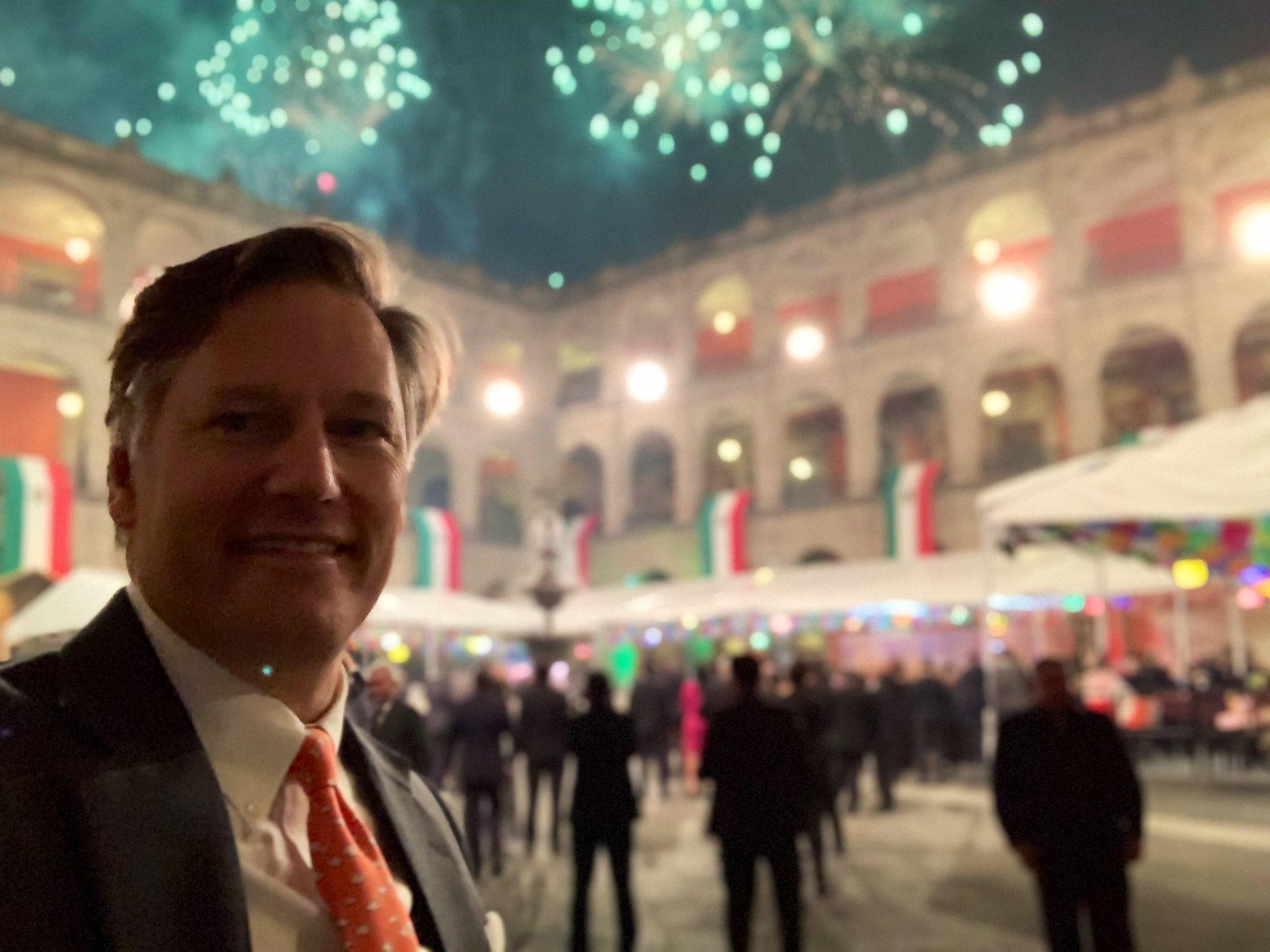 Christopher Landau embajador de estados unidos en mexico