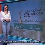 FOTO: Clima A las Tres con Daniela Álvarez 2 septiembre 2019