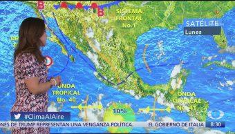 Clima Al Aire: Entra frente frío 1 a México