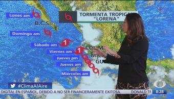 Clima Al Aire: 'Lorena' provocará lluvias en Michoacán y Guerrero