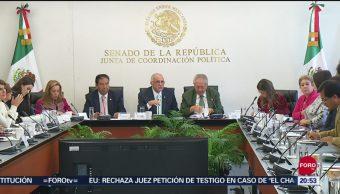 Foto: Comparece Secretario Salud Ante Senadores 30 Septiembre 2019