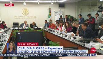 Foto: Continua Discusión Leyes Secundarias Reforma Educativa Senado