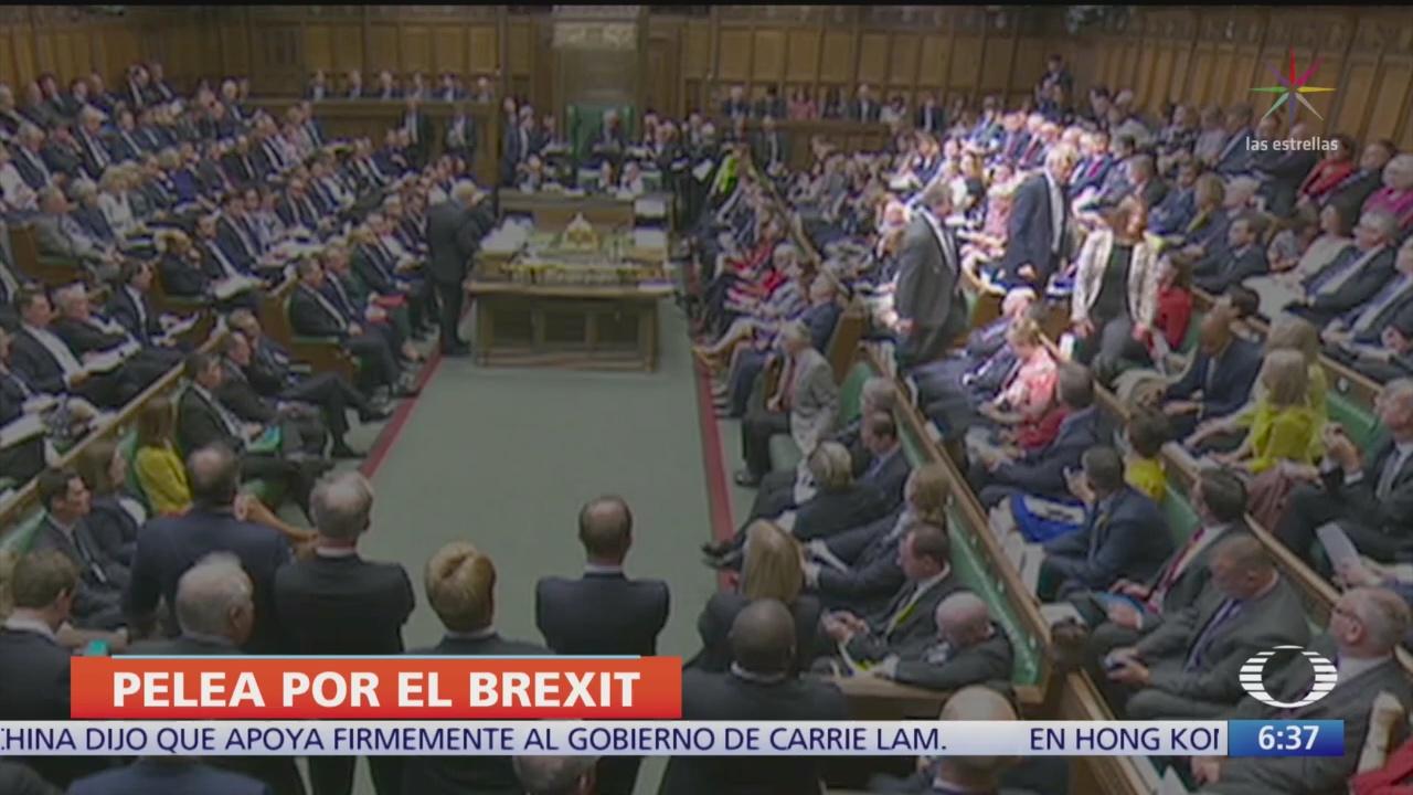 Crisis en el Parlamento británico por Brexit