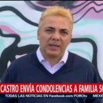 FOTO: Cristian Castro envía sus condolencias por la muerte de José José, 28 septiembre 2019