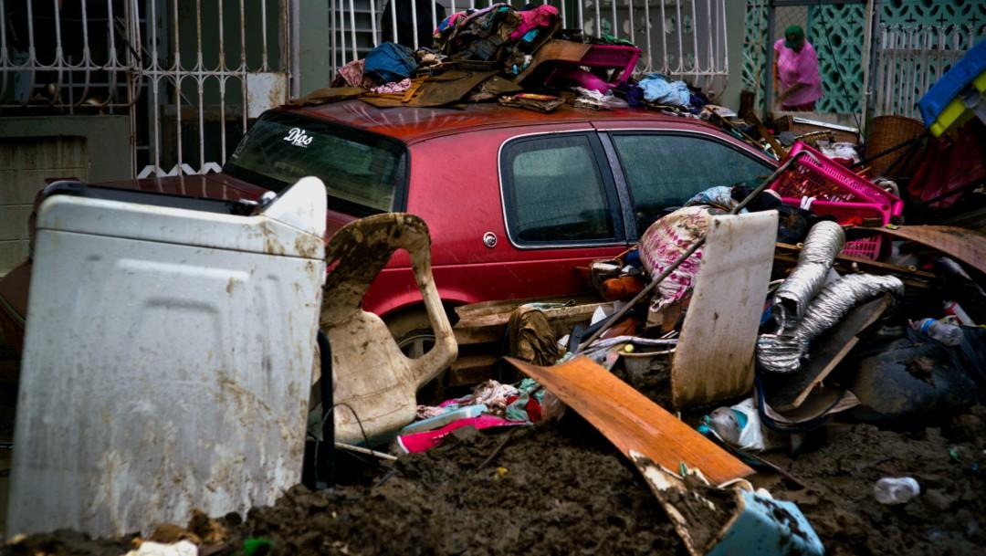 Foto: Daños por huracán María en Puerto Rico, 16 de octubre de 2017