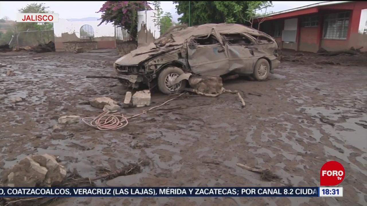 FOTO: Deforestación Causante Desbordamiento Río Salsipuedes Jalisco