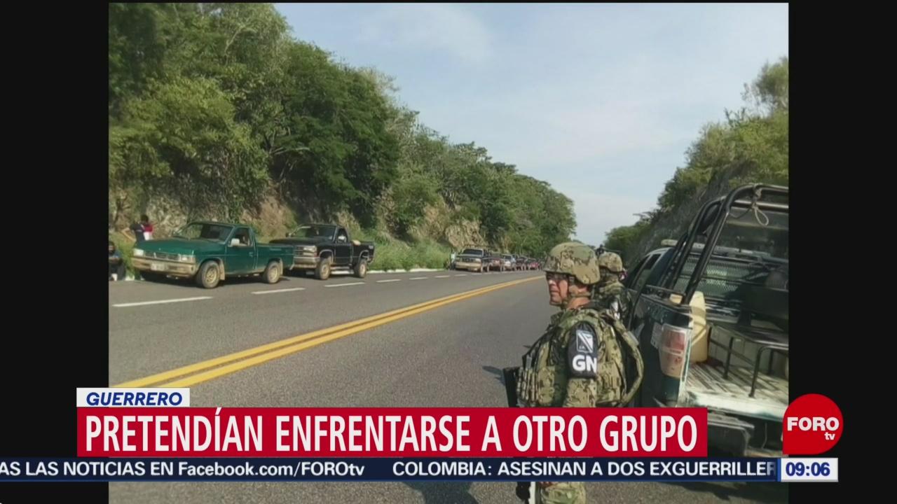 FOTO: Detienen a 70 personas vinculadas a grupo delictivo en Guerrero, 8 septiembre 2019