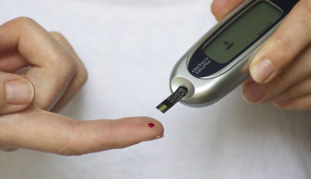 Foto:Prueba de diabetes. 15 septiembre 2019