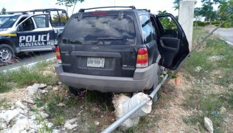 """Foto: Los hechos ocurrieron en el fraccionamiento """"La Joya"""" en la súper manzana 255 de Cancún, 29 de septiembre de 2019 (Twitter @KPYA)"""