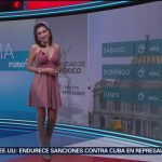 FOTO: Clima A las Tres con Daniela Álvarez 6 septiembre 2019,