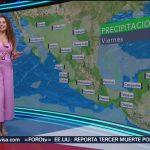 FOTO: Clima con Mayte Carranco 6 septiembre 2019,