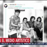 FOTO: El medio artístico llora a José José, 28 septiembre 2019