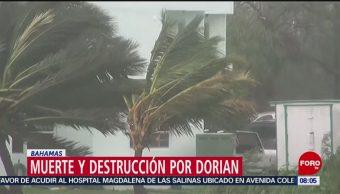 FOTO: El paso del huracán 'Dorian' por las Bahamas, 7 septiembre 2019