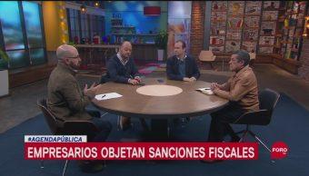 FOTO:Empresarios objetan sanciones fiscales, 15 Septiembre 2019