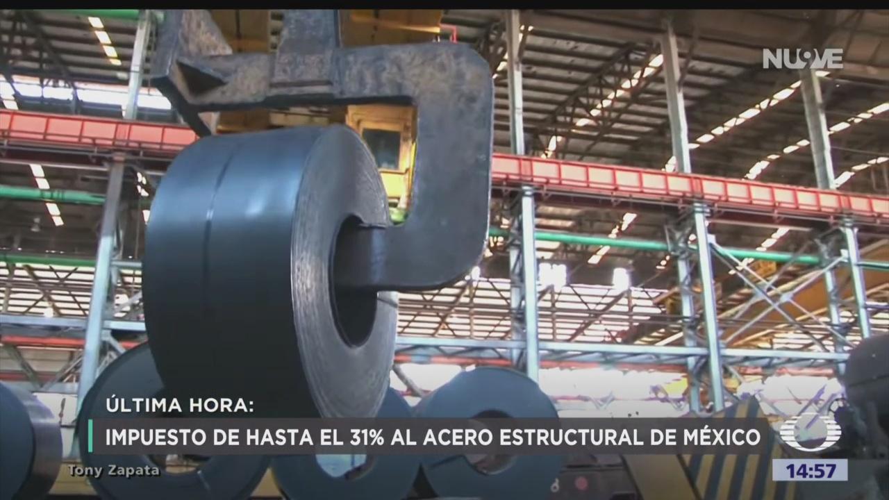 FOTO: Estados Unidos Interpone Aranceles Acero México China